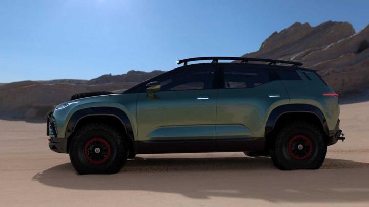 Imagem do SUV elétrico Fisker
