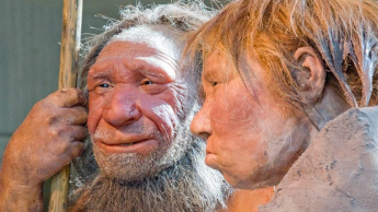 Imagem homem da préhistória