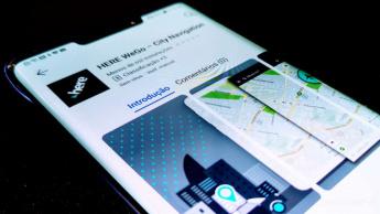 Huawei AppGallery Here app Google
