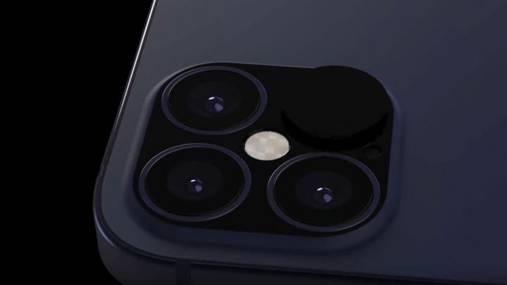 Hipotética imagem das câmaras do novo iPhone