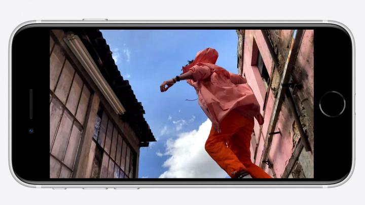 Imagem da Apple do Ecrã do novo smartphone