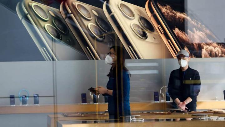 Imagem loja Apple China