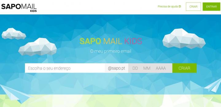Chegou o SAPO Mail Kids: o serviço de e-mail para os seus filhos