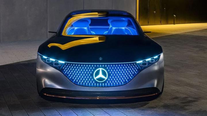 Imagem Mercedes EQC elétrico