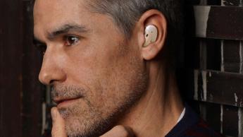 Galaxy Buds Samsung earbuds smartphones mockups