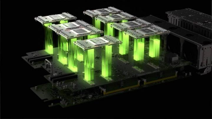 Imagem Nvidia ataque coronavírus com 30 supercomputadores