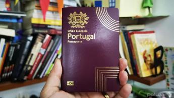 Imagem do Passaporte de Portugal