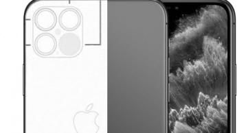 Imagem rumor do LiDAR no iPhone 12