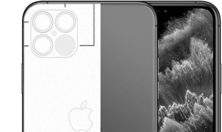 Imagem rumor do LiDAR no iPhone 12 com Realidade Aumentada no iOS 14