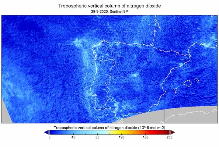 COVID-19: Poluição com uma redução enorme em Portugal