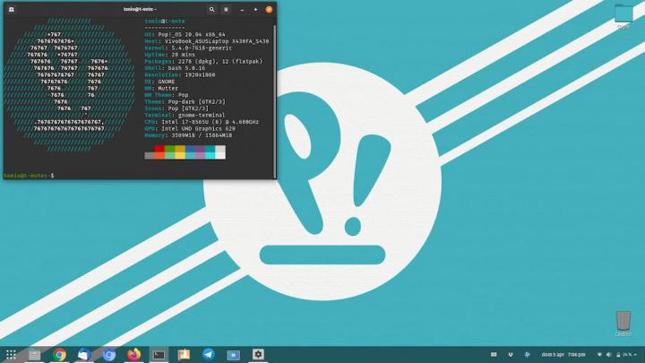 Pop!_OS 20.04 Beta: Uma distro Linux para os makers