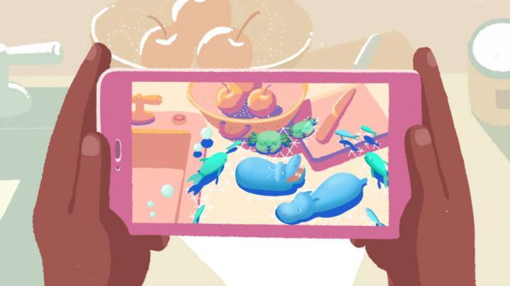 Realidade Aumentada Android apps desenho casa