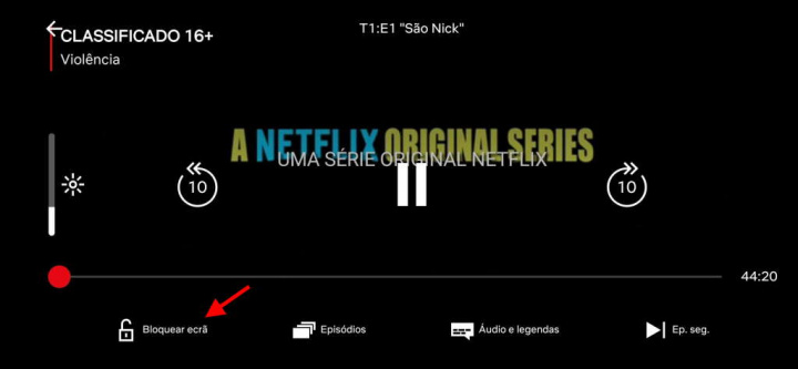 Netflix screen lock Android problem