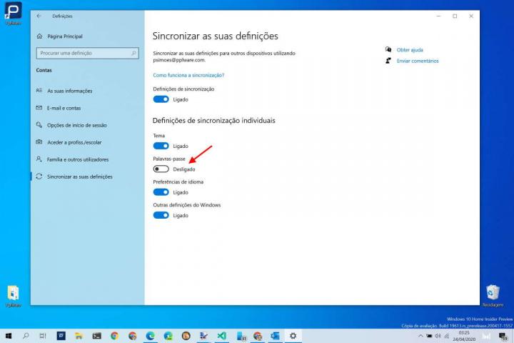 Windows 10 passwords segurança utilizadores Microsoft