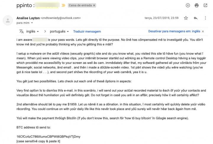 Sextortion: Alguém lhe está a pedir dinheiro por imagens de cariz sexual?