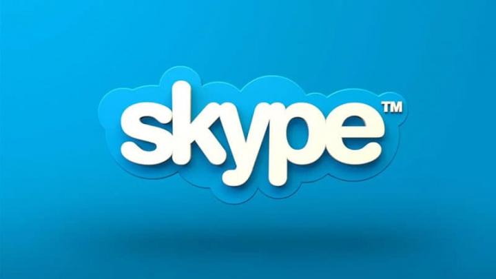 Imagem Skype que adicionou fundos de ecrã