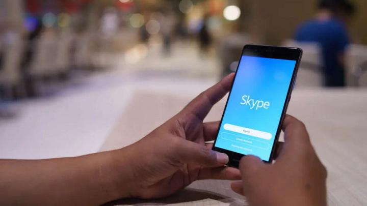 Skype Meet Now conta reunião instalado
