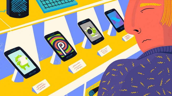 Android fragmentação números smartphones Google