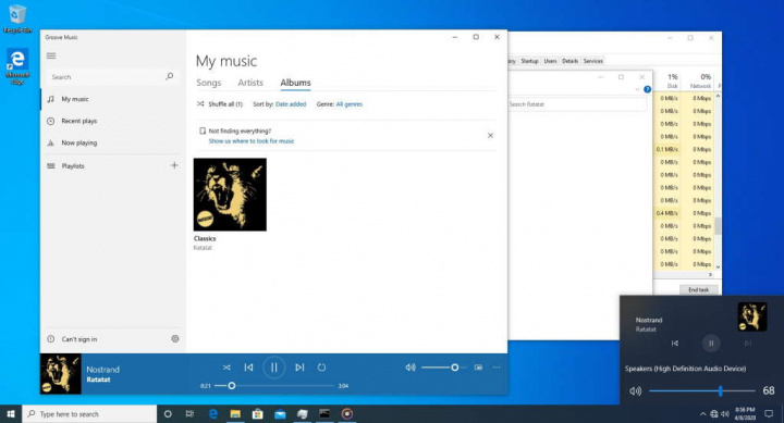 Windows 10 áudio Microsoft novidades melhorias