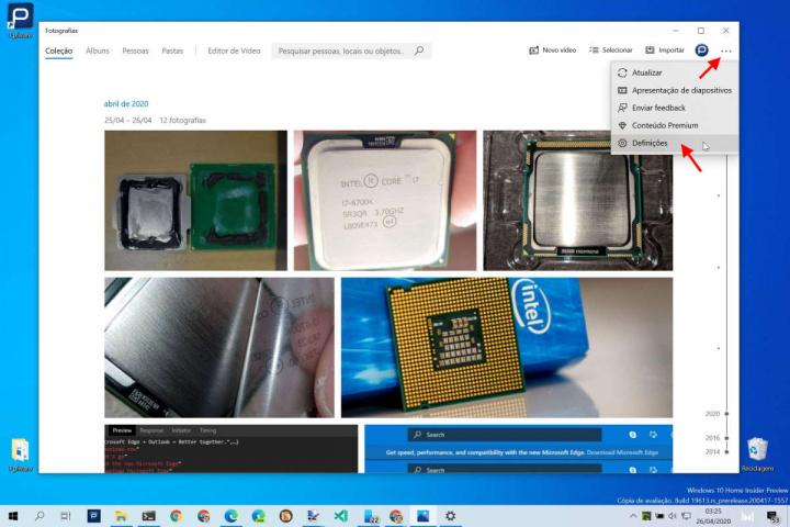 Windows 10 reconhecimento facial Fotografias Microsoft