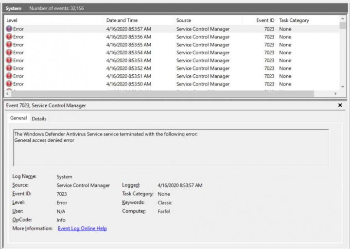 Windows Defender Windows 10 atualização Microsoft segurança
