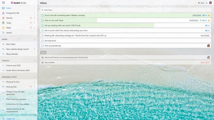 Procura alternativas ao quase extinto Wunderlist (Microsoft To Do)? Experimente o Zenkit To Do para organizar tarefas