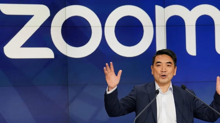 Imagem do CEO do Zoom