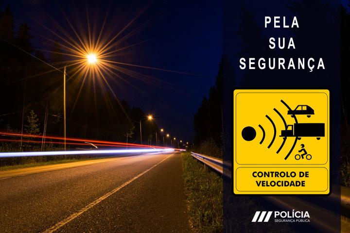 Radares de Velocidade da PSP: Saiba onde vão estar em maio