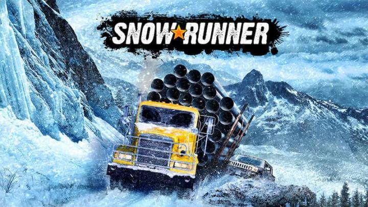 Imagem SnowRunner da Saber, um jogo de simulação de condução