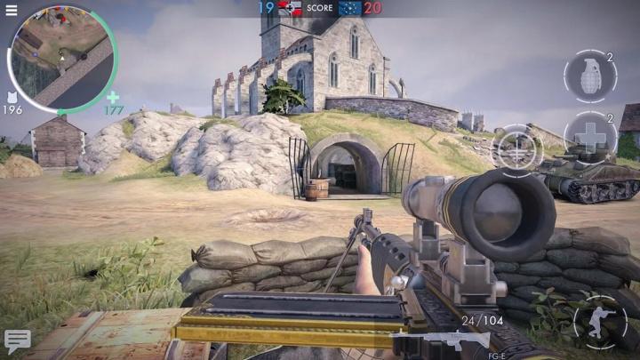 World War Heroes: Guerra FPS - 5 jogos de tiros para instalar no seu smartphone Android e iOS