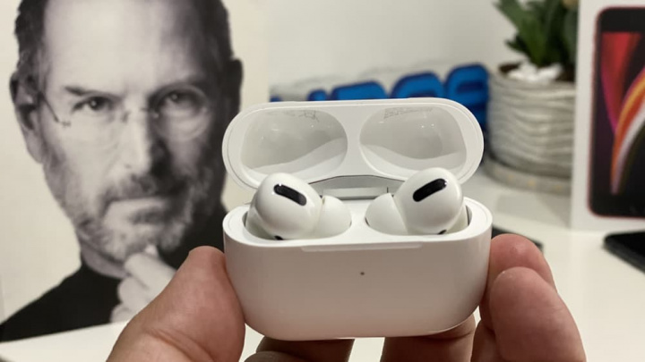 Imagem AirPods Pro firmware