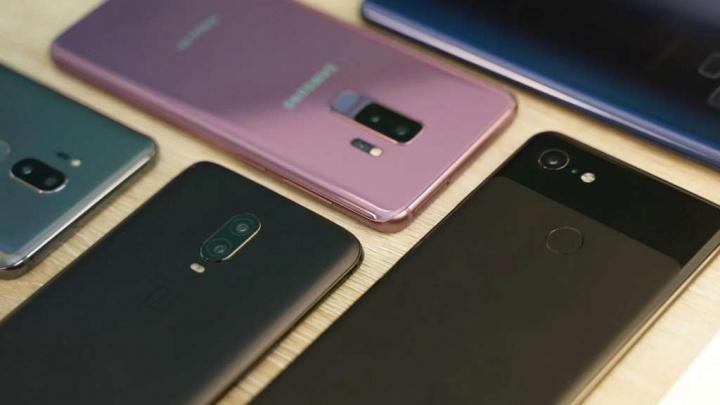 Antutu smartphones rápidos Snapdragon 865 marcas