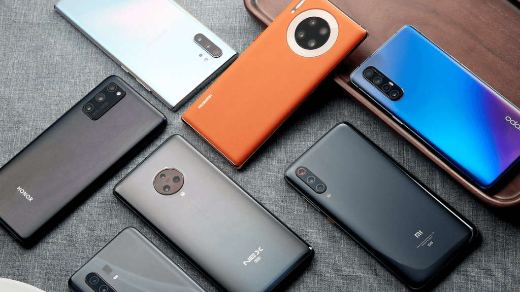 Antutu unveiled the fastest smartphones on the global market in April