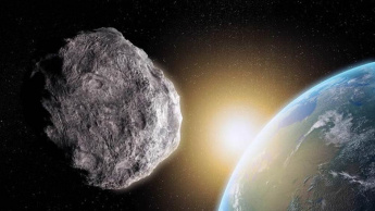 Imagem asteroide apófis detetado pela NASA que passará pela Terra
