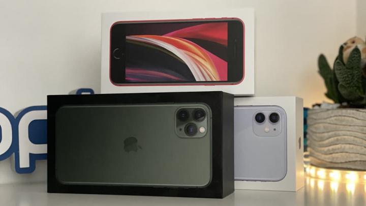 Imagem iPhone 11, iPhone 11 Pro Max e iPhone SE 2020 rumo ao iPhone 12