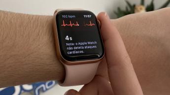 Imagem Apple Watch 5 com ECG