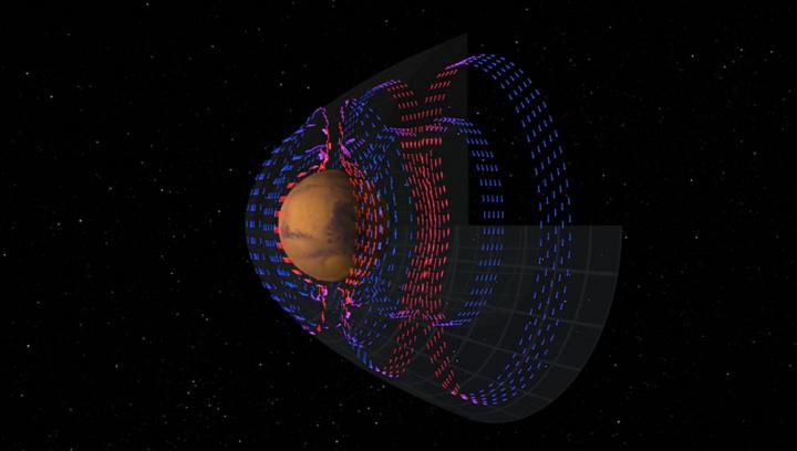 Imagem atmosfera marciana
