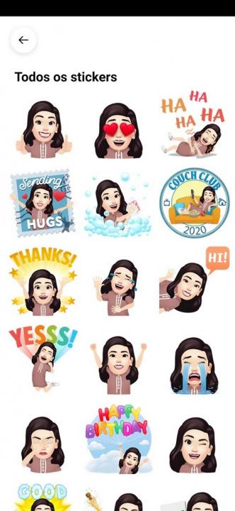 Usar Avatar no Facebook como sticker no Messenger e comentários