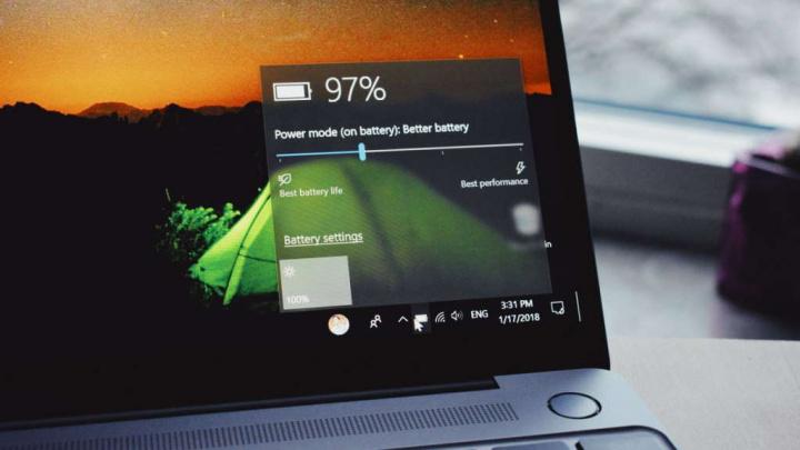 Bateria Windows 10 apps estado