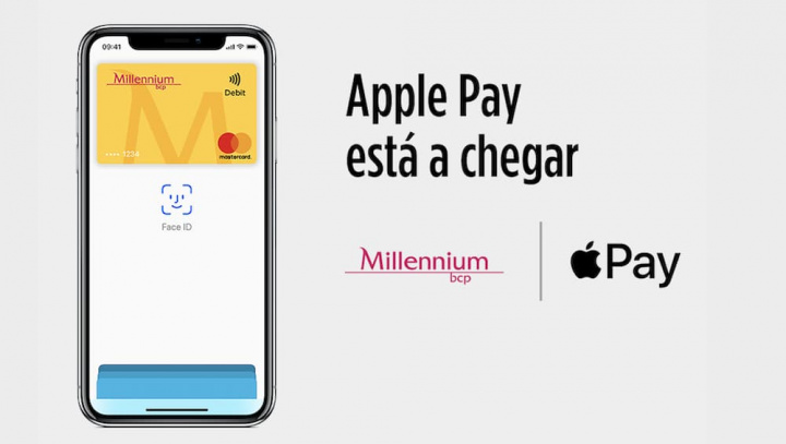 Imagem anúncio Apple Pay Millennium BCP