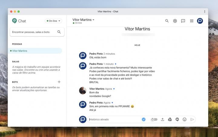 Google Chat: A ferramenta de ataque da Google ao Discord e Slack?