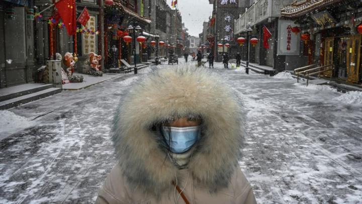 Imagem proteger do frio e da COVID-19