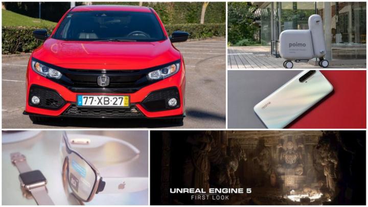 E os destaques tecnológicos da semana que passou foram... - realme, Cubot, Blackview, Honda, Unreal Engine 5