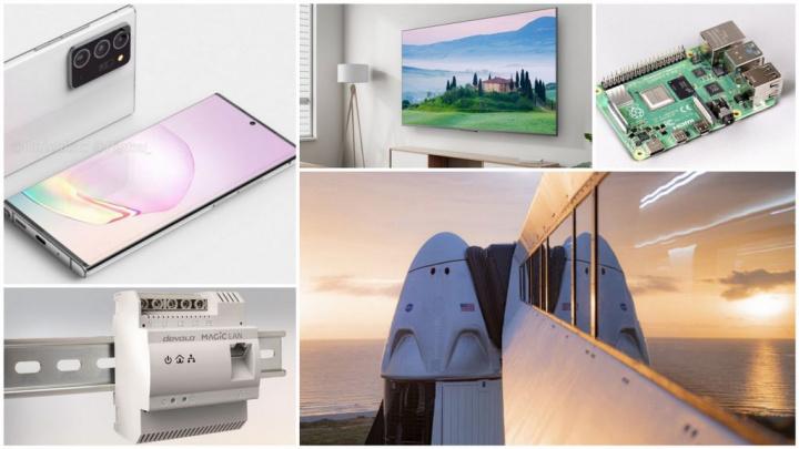 E os destaques tecnológicos da semana que passou foram... - NASA, Samsung, SpaceX, Raspberry Pi, Windows