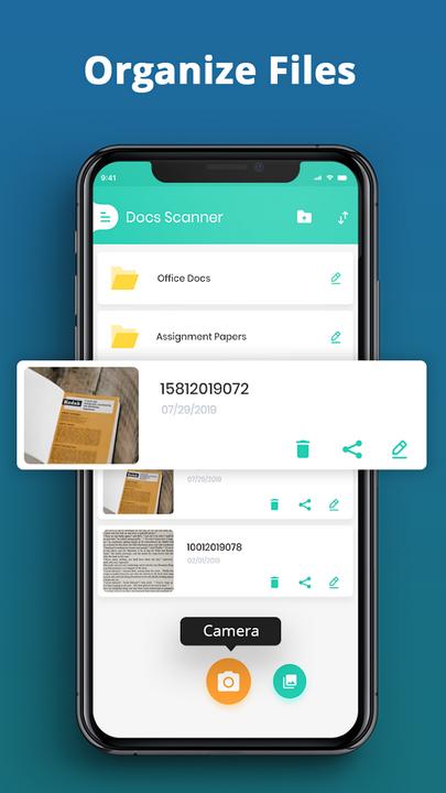 aplicação apps docs scanner