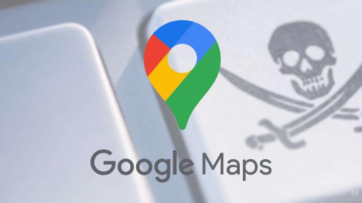 Google Maps software ilegal partilha Google