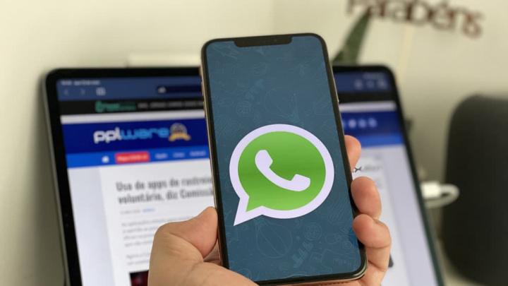 Imagem WhatsApp com chamadas de grupo no iPhone