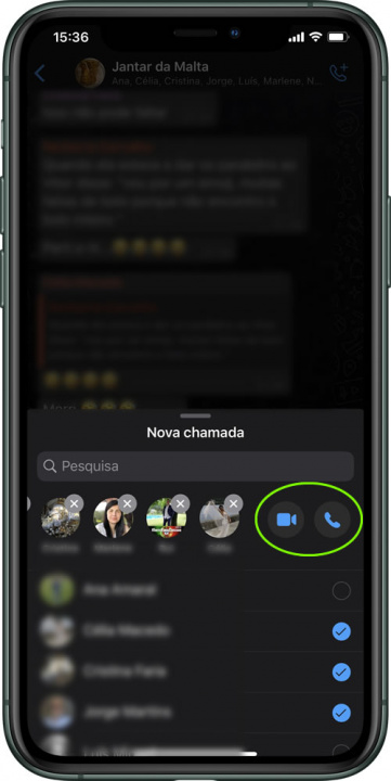 Tip: How to make group video calls via WhatsApp on iPhone