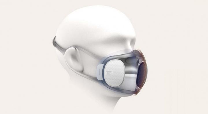 Huami Amazfit Aeri - a máscara transparente e que se auto-desinfeta