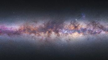 Imagem fotografia da Via-Láctea por MIguel Claro